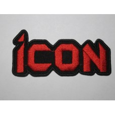 ICON patch embroidered