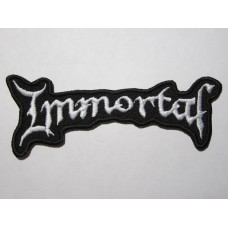 IMMORTAL patch embroidered