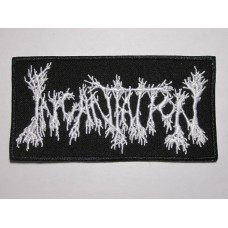 INCANTATION patch embroidered