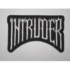 INTRUDER patch embroidered
