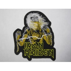 IRON MAIDEN patch Live After Death embroidered