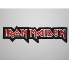 IRON MAIDEN patch embroidered logo