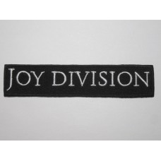 JOY DIVISION patch embroidered