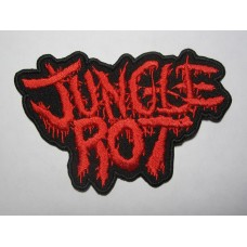 JUNGLE ROT patch embroidered