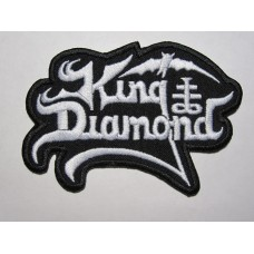 KING DIAMOND patch embroidered