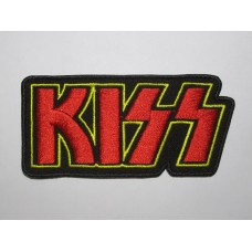 KISS patch embroidered