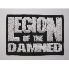 LEGION OF THE DAMNED patch embroidered