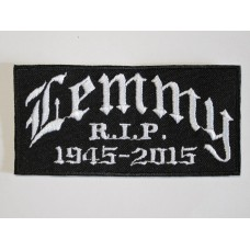 LEMMY Motorhead patch embroidered