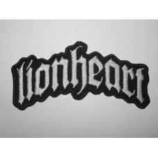 LIONHEART patch embroidered