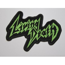 LIVING DEATH patch embroidered