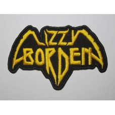 LIZZY BORDEN patch embroidered