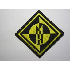 MACHINE HEAD patch embroidered
