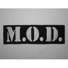 M.O.D. patch embroidered mod