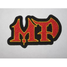 MP patch embroidered