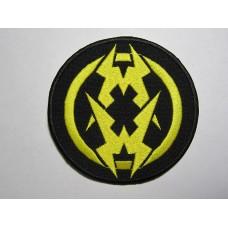 MUNICIPAL WASTE patch embroidered mw