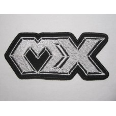 MX patch embroidered