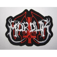 MARDUK patch embroidered