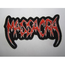 MASSACRA patch embroidered