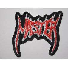 MASTER patch embroidered