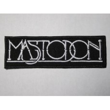 MASTODON patch embroidered
