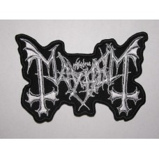 MAYHEM patch embroidered