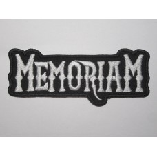 MEMORIAM patch embroidered