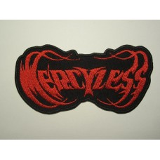 MERCYLESS patch embroidered