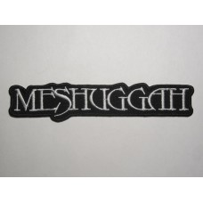 MESHUGGAH patch embroidered