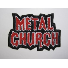 METAL CHURCH patch embroidered