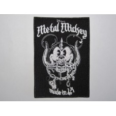 METAL MICKEY Motorhead patch embroidered