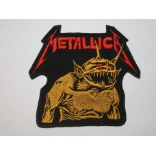METALLICA patch embroidered Jump In The Fire