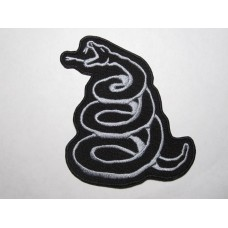 METALLICA patch embroidered Snake