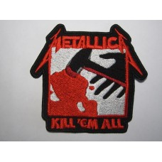 METALLICA patch embroidered Kill Em All