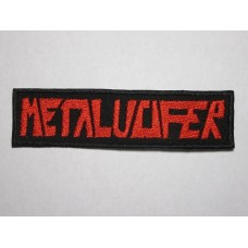METALUCIFER patch embroidered