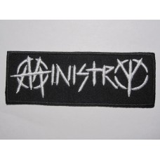 MINISTRY patch embroidered
