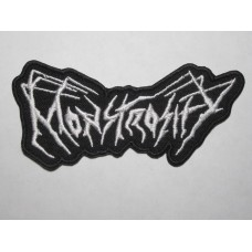 MONSTROSITY patch embroidered