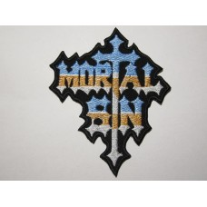 MORTAL SIN patch embroidered