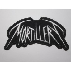 MORTILLERY patch embroidered