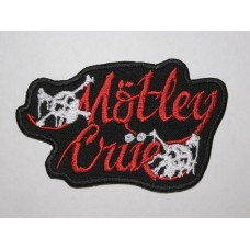 MOTLEY CRUE patch embroidered