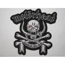 MOTORHEAD patch embroidered March Or Die