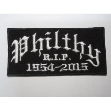 PHILTHY Motorhead patch embroidered