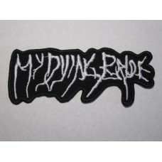 MY DYING BRIDE patch embroidered