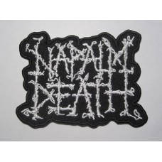 NAPALM DEATH patch embroidered