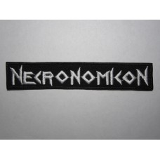 NECRONOMICON patch embroidered