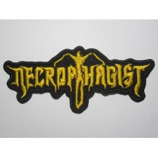 NECROPHAGIST patch embroidered