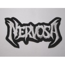 NERVOSA patch embroidered