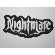 NIGHTMARE patch embroidered