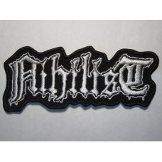 NIHILIST patch embroidered