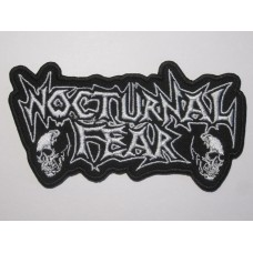 NOCTURNAL FEAR patch embroidered