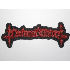 NOCTURNAL GRAVES patch embroidered